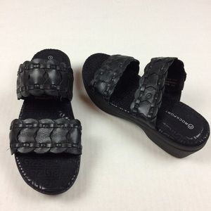 Rockport adiPRENE by Adidas black sandals